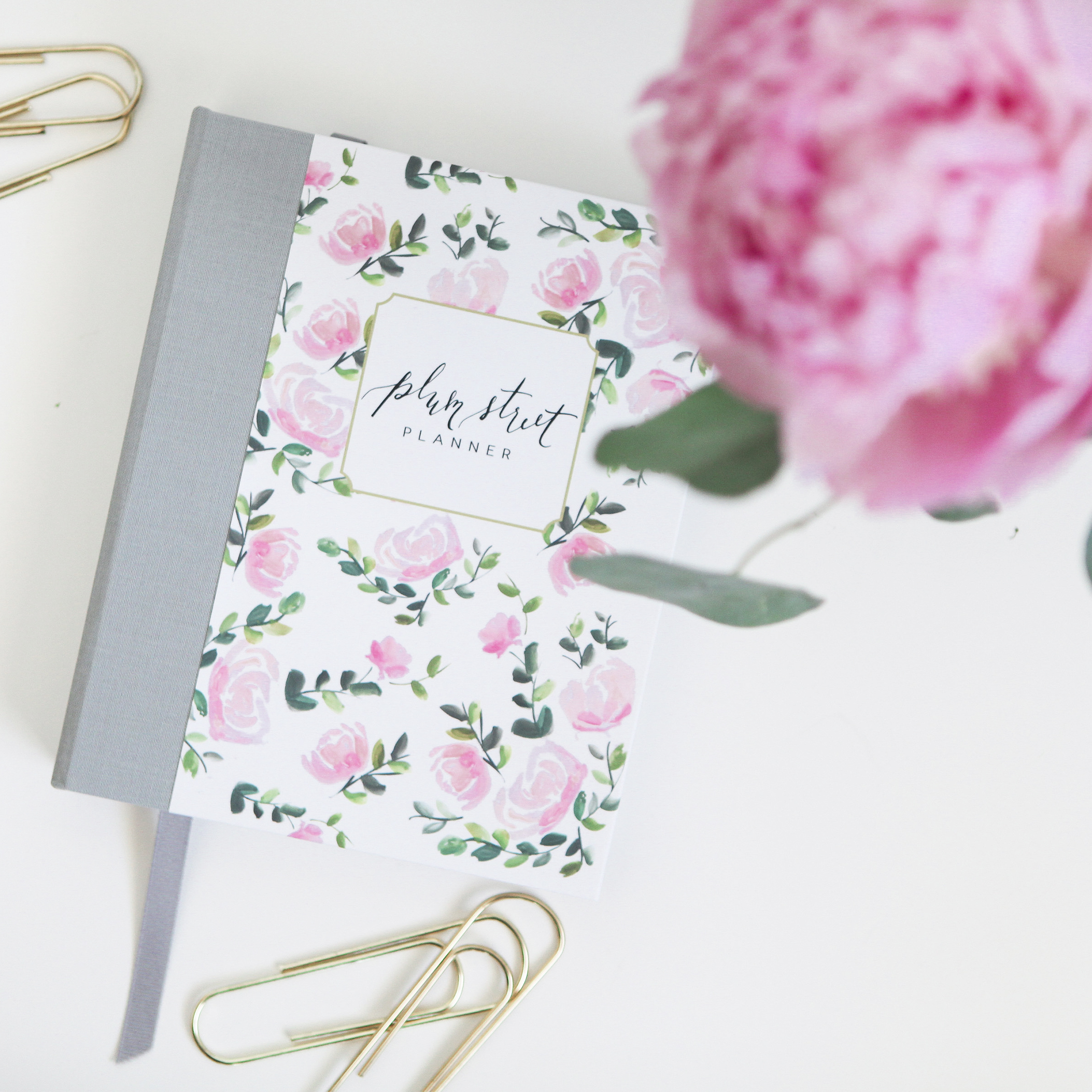 2017 floral planner plum street collective