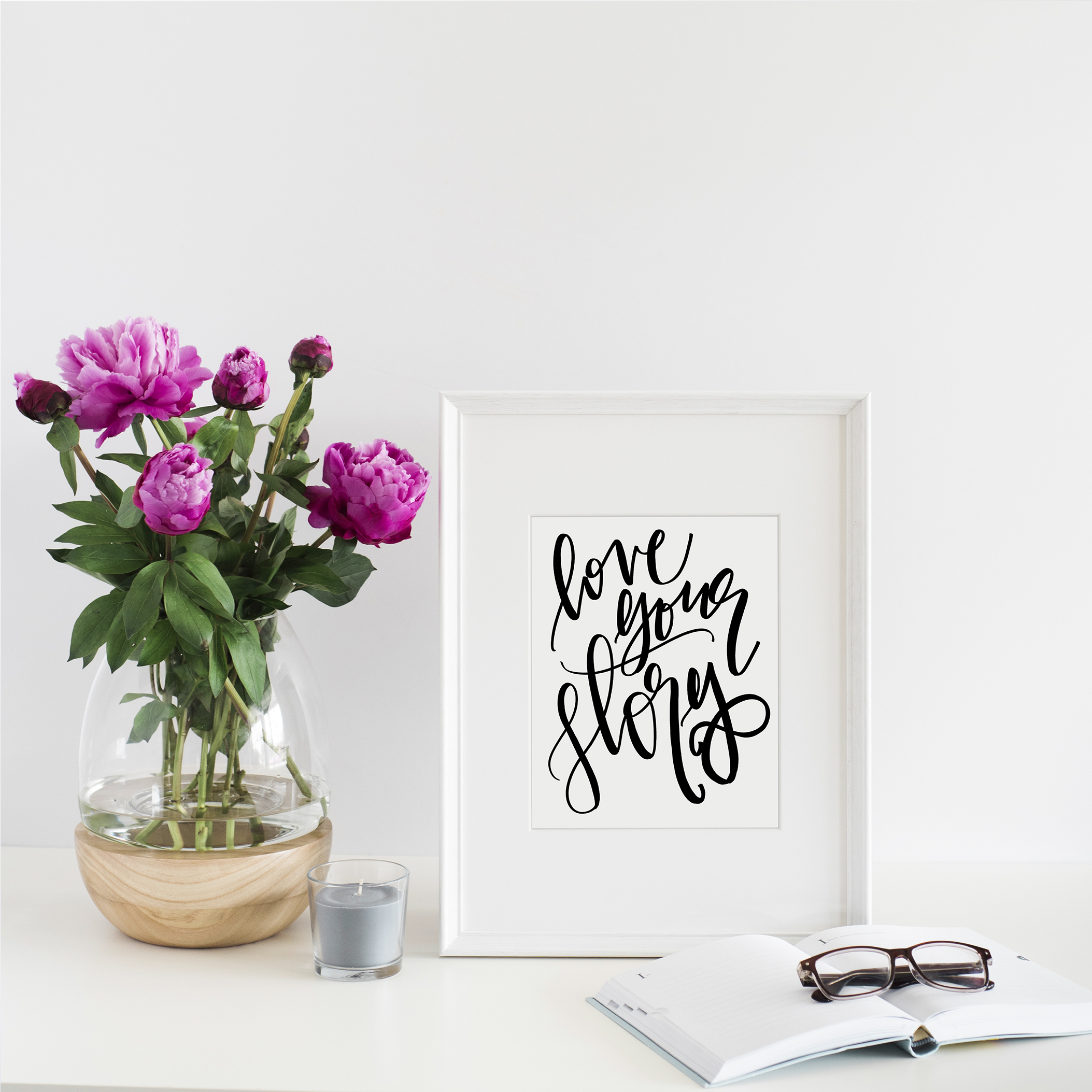 Love Your Story Print