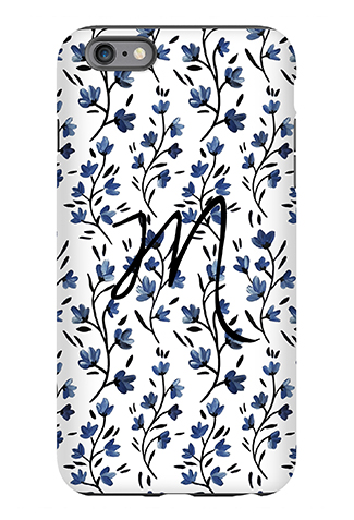 Blue Belle Phone Case - Caitlin Wilson Line