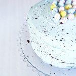 Cadbury Mini Egg Speckled Easter Cake