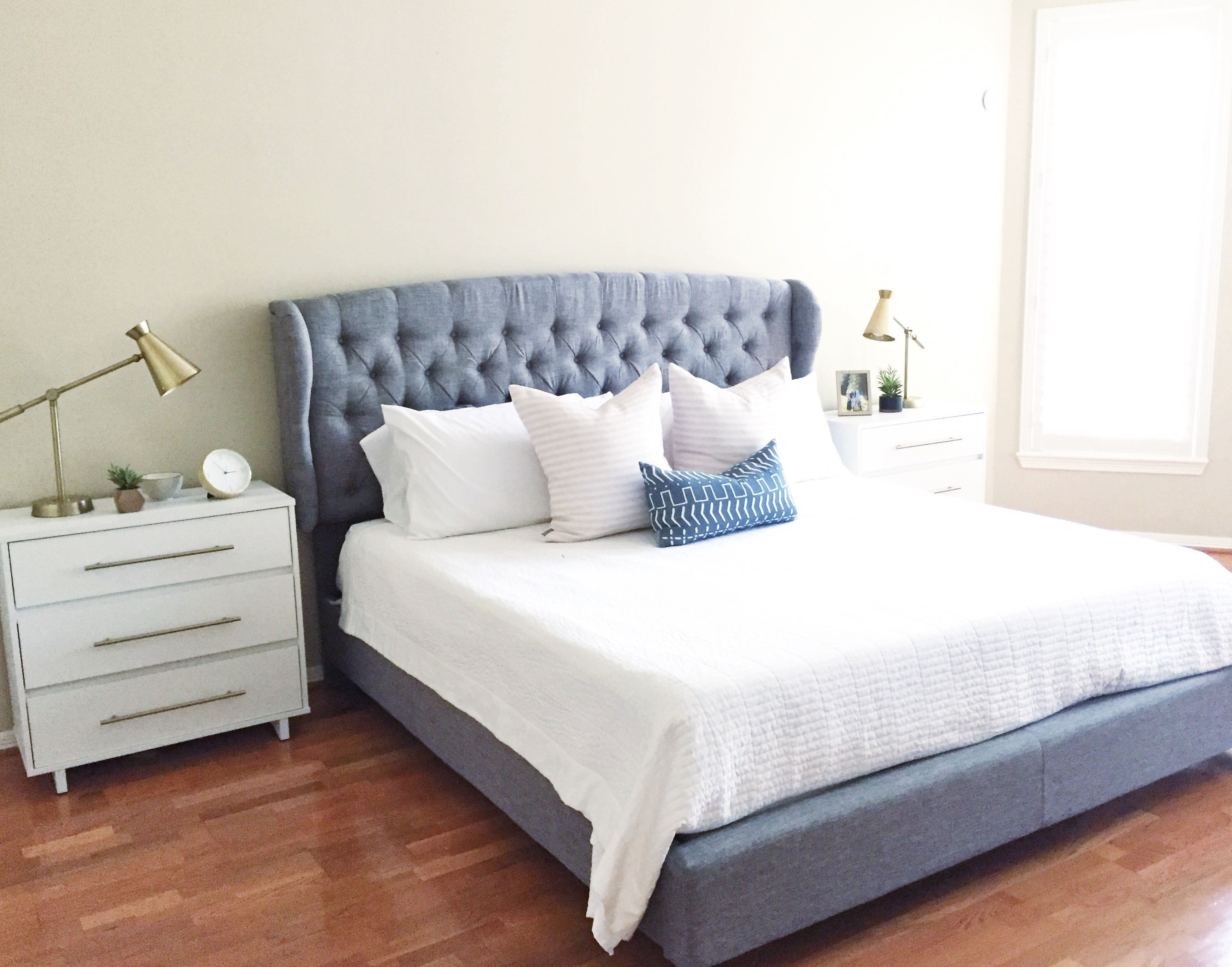 Simple Master Bedroom Update