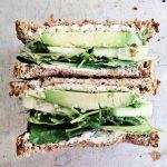 Green Veggie Sandwich