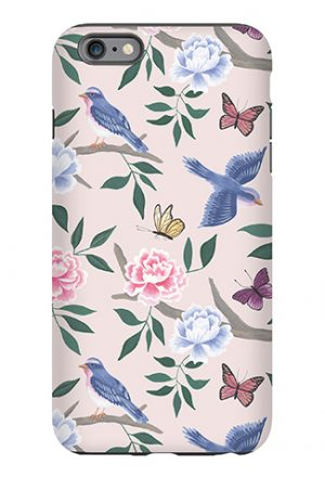 Blush Chinoiserie Phone Case