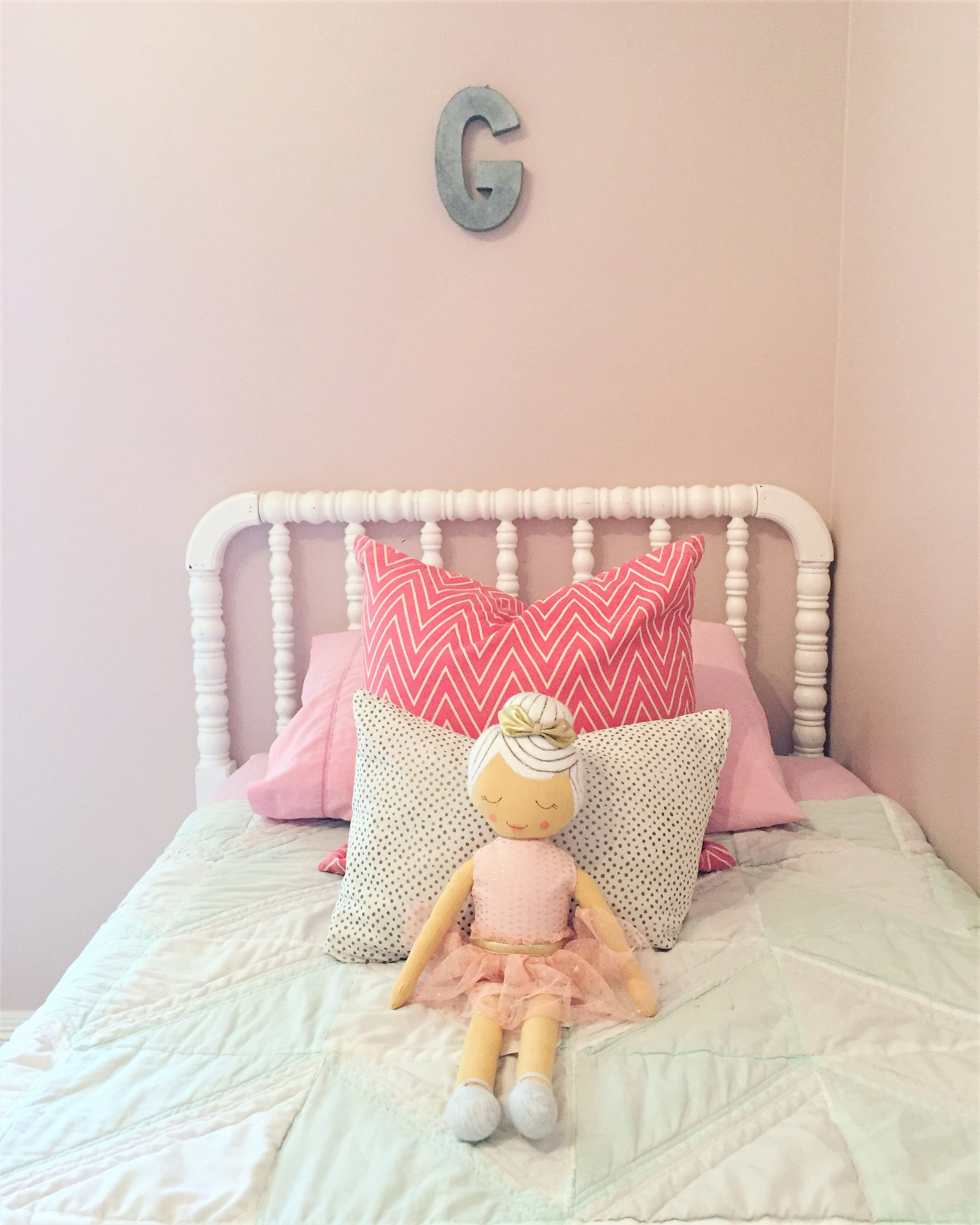 Simple Girl's Room Updates