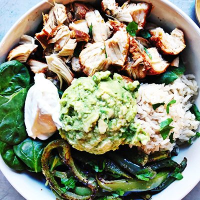 Honey Lime Chicken Bowls