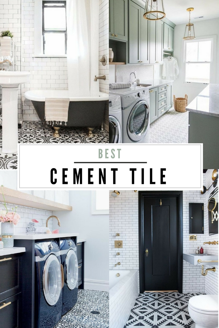 Roundup of My Favorite Cement Tile - Plum Street Collective