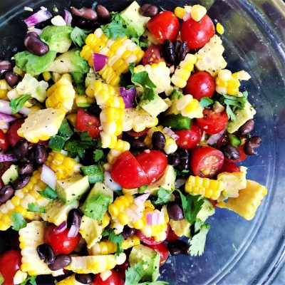 Corn and Avocado Salsa