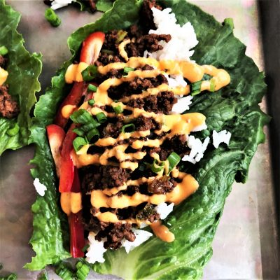 Chiang Mai Beef Lettuce Wraps