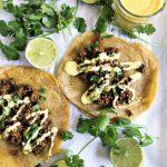 Indian Qeema Curry Tacos