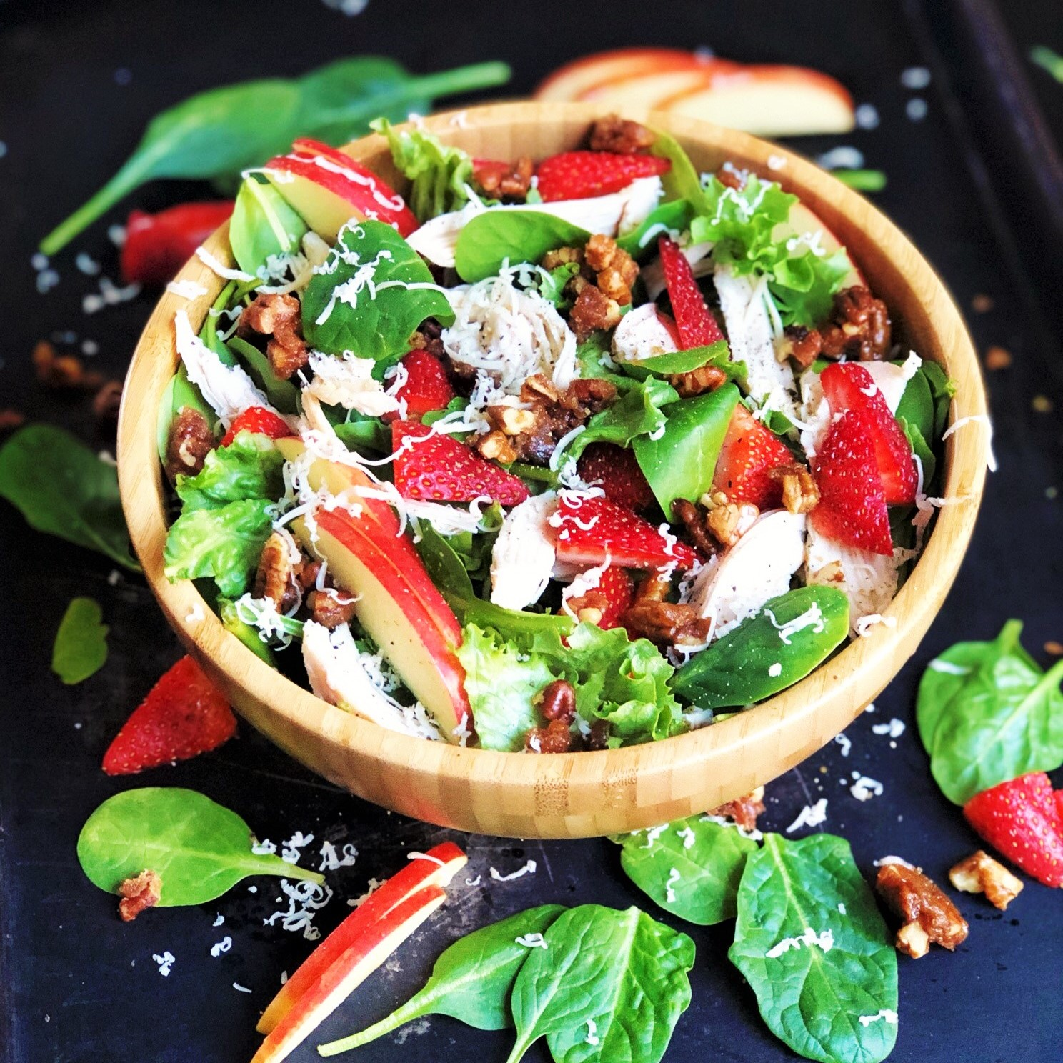 Zupas Copycat Strawberry Harvest Salad Plum Street Collective